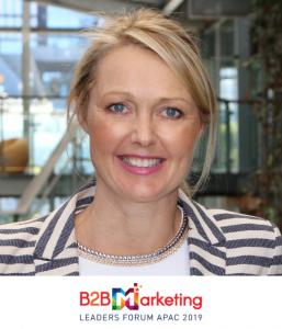 Emma Roborgh CMO B2B Marketing Conference Sydney Australia 2019