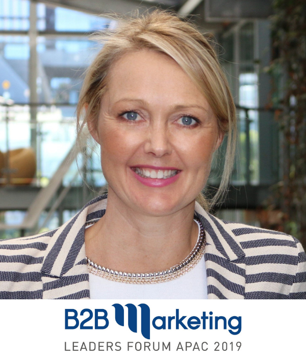Emma Roborgh CMO B2B Marketing Conference Sydney Australia 2019