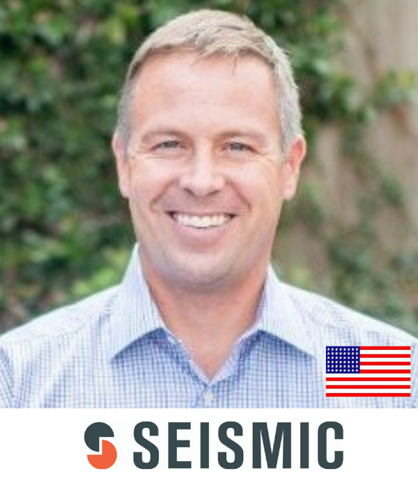Doug Winter CEO Seismic B2B Marketing Conference Sydney Australia 2019