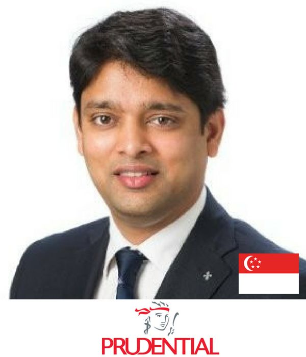 Harish Agarwal Prudential VP Marketing b2b conference singapore asia 2018