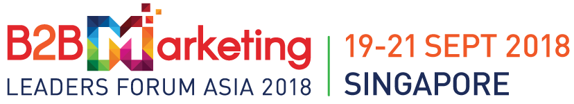 B2B Marketing Leaders Forum Conference in Singapore ASIA September 2018