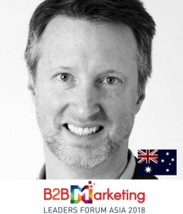 todd wheatland content marketing strategy b2b marketing conference in singapore asia 2018 MC