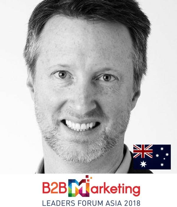 todd wheatland content marketing strategy b2b marketing conference in singapore asia 2018 MC
