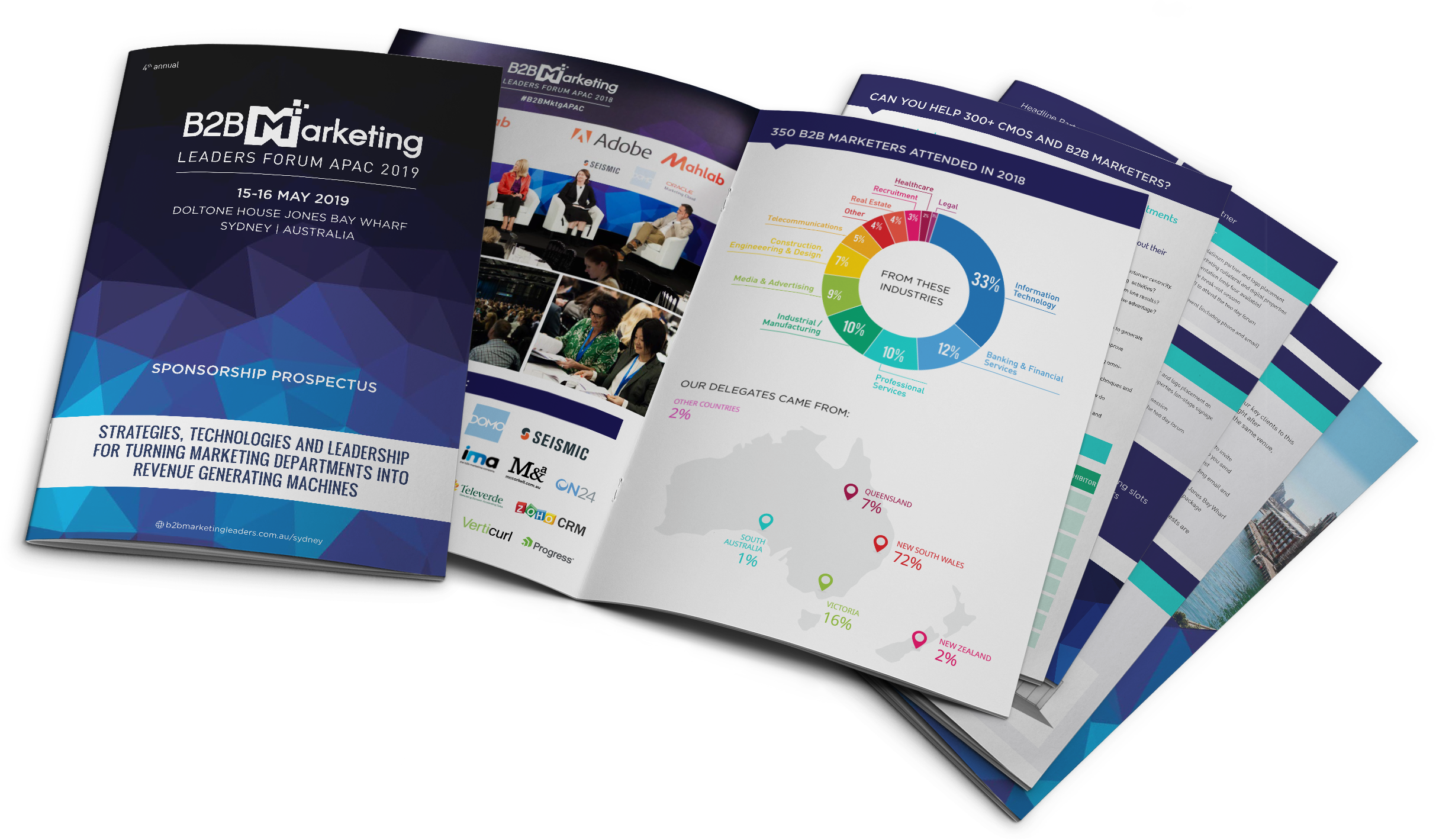 2019 B2B Marketing Conference in Sydney Australia for CMOs