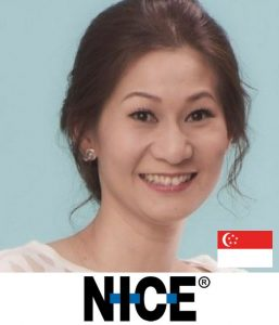 Catherine Swee CMO, CX, Customer Experience NICE b2b marketing event singapore asia 2018
