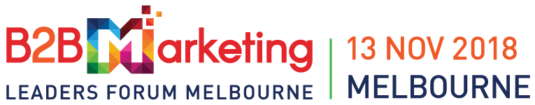 Melbourne B2B Marketing Conference 2018 in November