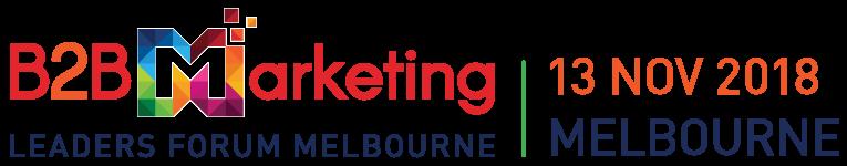 Melbourne B2B Marketing Conference 2018 in November