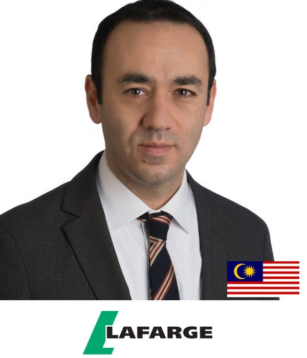 Tolga Pekel, CMO Lafarge Malaysia at B2B marketing conference in Singapore Asia 2018 on Customer Experience