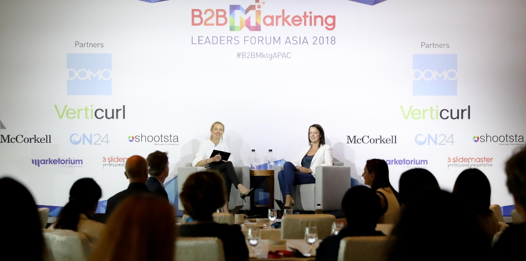 B2B marketing Marketorium_Emma Roborgh Wendy Johnstone Microsoft Singapore event