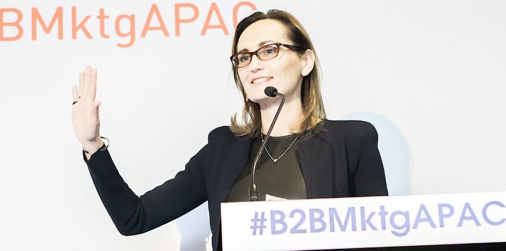 B2B marketing Marketorium suzana ristevski NAB CMO CX leadership