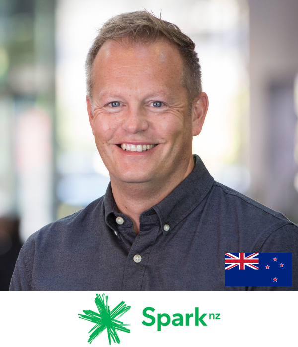 Mark Redgrave CMO Spark NZ B2B Marketing Conference Sydney Australia 2019
