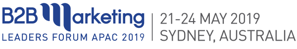B2B Marketing Conference 2019 Sydney Australia
