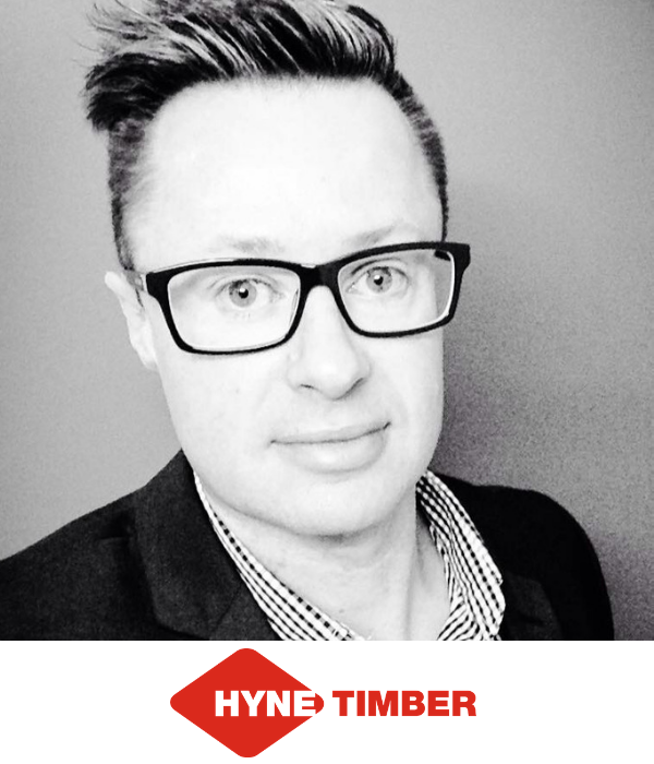 Jeremy Mead CMO Hyne Timber B2B Marketing Conference Sydney 2019
