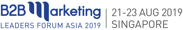 B2B Marketing Conference in Singapore, Asia in 2019