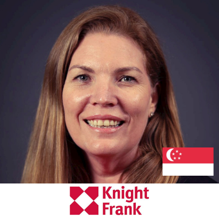 Wendy McEwan Head of Marketing and Comms Knight Frank B2B Marketing Conference Singapore 2019