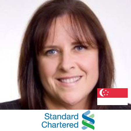 Anne Llewelyn Standard Chartered Bank B2B Marketing Conference Singapore 2019