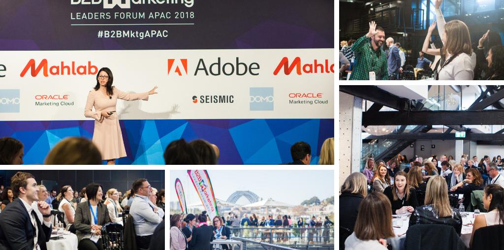 B2B Marketing Conference 2019 Sydney Australia Marketorium