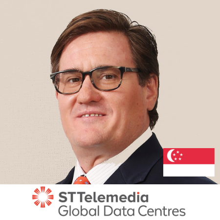 Chris Street CMO ST Telemedia Global Data Centres B2B Marketing Conference Singapore 2019