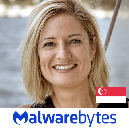 Leslia Beckman Marketing Director Malwarebytes B2B Marketing Conference Singapore 2019