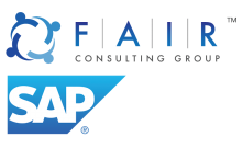 FAIR and SAP logo Stacked high quality