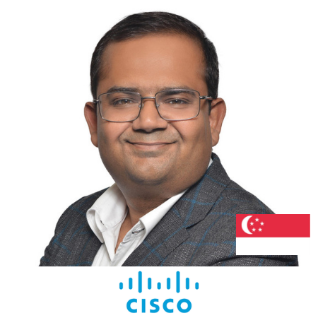 Rashish Pandey Director of Marketing Cisco B2B Marketing Conference Singapore 2019