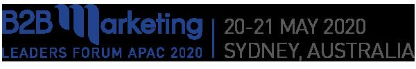 B2B logo Sydney 2020 Blue tagline 600x100