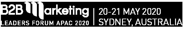B2B logo Sydney 2020 white tagline 600x100
