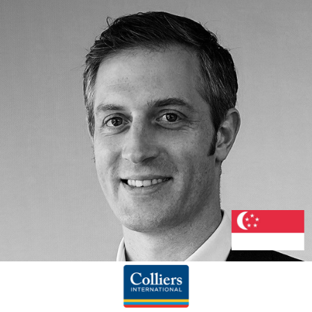 Cassius Taylor Smith Executive Director Colliers International B2B Marketing Conference Singapore 2019