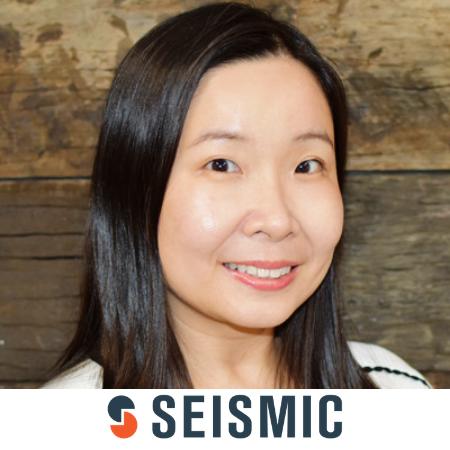 Iris Chan Seismic b2b marketing conference sydney australia 2020
