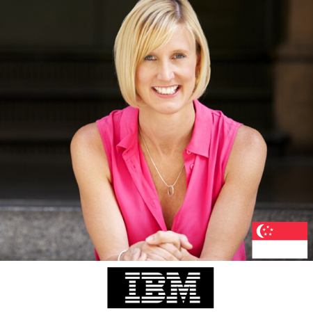 Jodie Sangster CMO IBM at B2B Marketing Conference Sydney Australia 2020