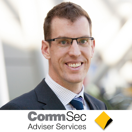 Andrew Rogan commsec adviser services b2b marketing conference sydney australia 2020