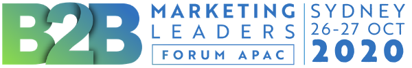 B2B Marketing Leaders Forum APAC 2020 | 26-27 October | Doltone House Darling Island