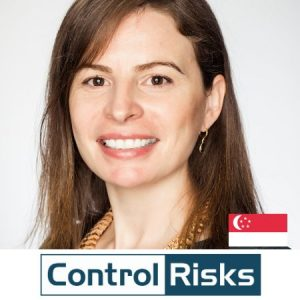 Rachael Milford CMO Controlrisks Singapore B2B Marketing Conference 2020
