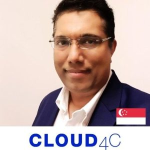 Samuel Varghese CMO Cloud4C asia B2B Marketing Conference 2020