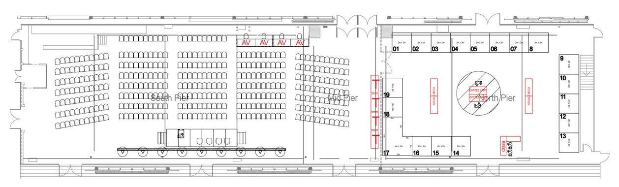 Exhibition expo floorplan b2b marketing conference sydney australia 2021