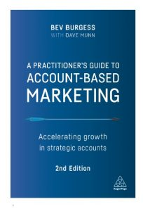 Account Based Marketing book
