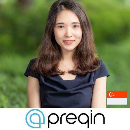 Christiana Wu head of marketing Asia preqin speaking at b2b marketing conference