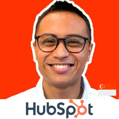 David Fallarme hubspot asia conference b2b singapore