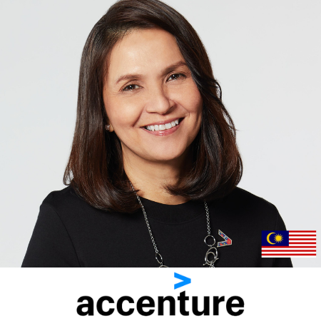 Karina Gan, Global CMO Growth Markets Accenture speaking at b2b marketing conference in Asia