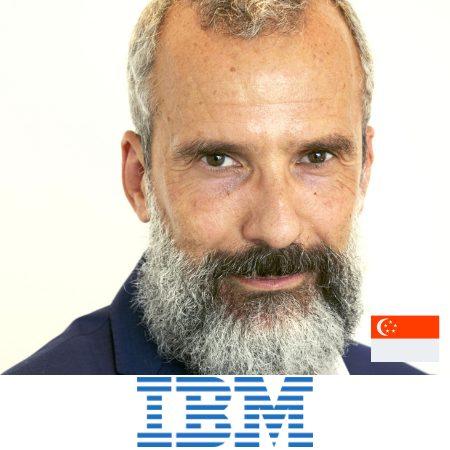Luca Destefanis marketing director APAC IBM B2B Marketing Asia conference
