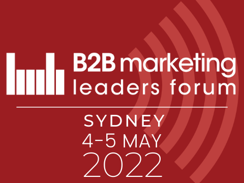 B2B Marketing Leaders Forum sydney 2022 webtile