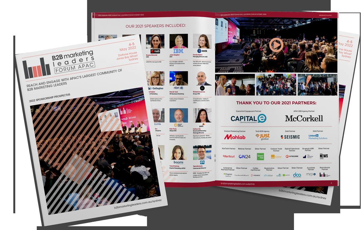 B2B Marketing Leaders Sydney Conference