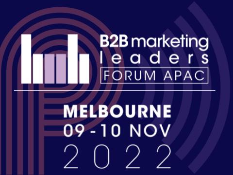 B2B Marketing Leaders Forum Melbourne 2022